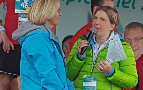 Christiane Krajewski – Präsidentin Special Olympics Deutschland