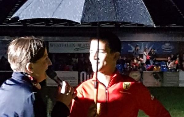 EM Sieger im Regen – Jannis Drewell