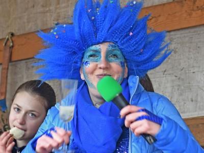 Blau im Karneval