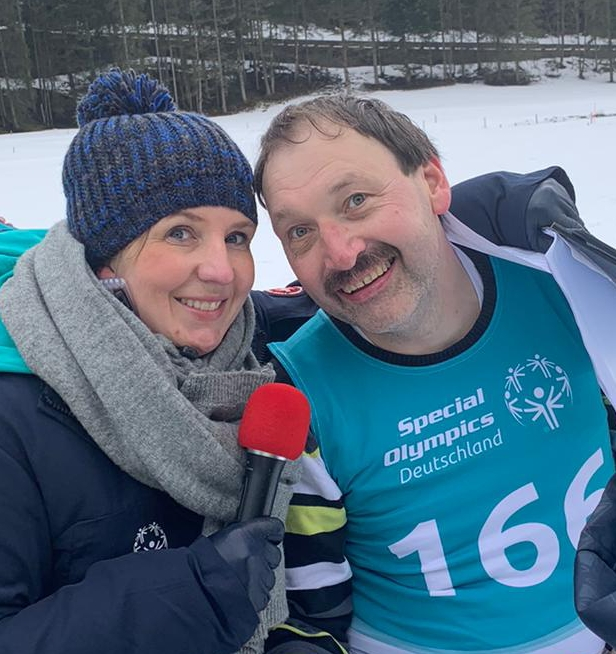 Special Olympics Athleten !